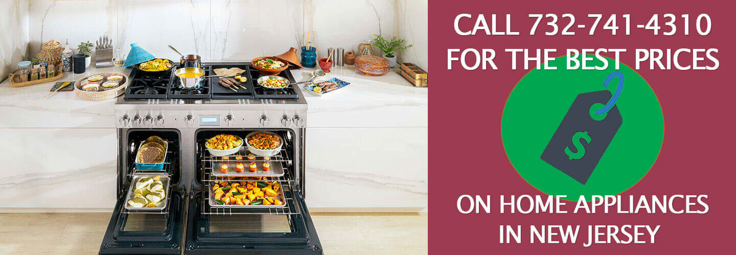 call us for the best price on home appliances in New Jersey